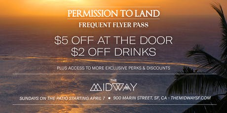 Permission to Land:  Frequent Flyer Pass tickets