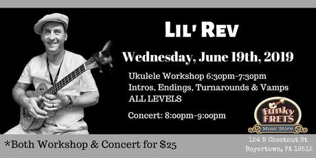 Lil' Rev Summer Tour tickets