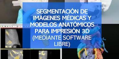 SEGMENTACIÓN DE IMÁGENES MÉDICAS Y MODELOS ANATÓMICOS para impresión 3D (Viernes 29)
