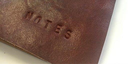 Leather Traveller's Notebook Workshop