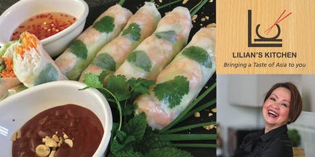 Lilian's Kitchen Thai & Vietnamese Cooking Class/Evening tickets