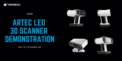 Artec Leo 3D Scanner Demonstration - Columbia, MD
