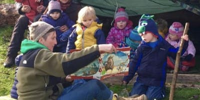 Babes in the Garden for 2-5yrs Monday  mornings  3 Weeks (BH 22nd April and 6th May)