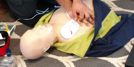 Certification Heartsaver CPR & AED Adult, Child, Infant Course  tickets