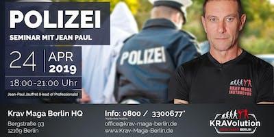 Polizei Seminar mit Jean Paul Jauffret