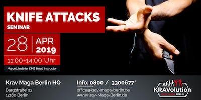 Krav Maga Knife Attacks
