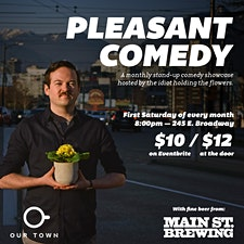 Pleasant Comedy logo