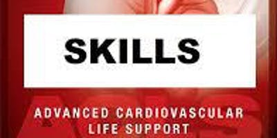 AHA ACLS Skills Session November 29, 2019 from 1 PM to 3 PM at Saving American Hearts, Inc. 6165 Lehman Drive Suite 202 Colorado Springs, Colorado 80918.