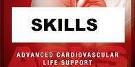 AHA ACLS Skills Session October 12, 2019 from 1 PM to 3 PM at Saving American Hearts, Inc. 6165 Lehman Drive Suite 202 Colorado Springs, Colorado 80918.