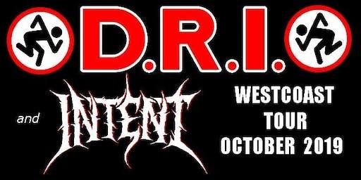 D.R.I. w/ Intent