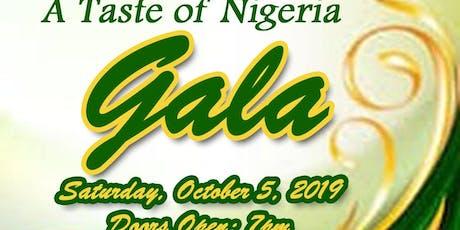 A Taste of Nigeria 2019 Gala tickets