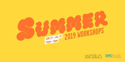 DMC Studio: SUMMER 2019 WORKSHOPS (Sound Design)