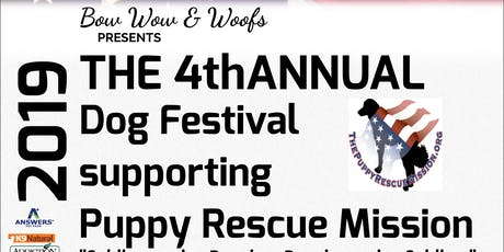 Puppy Rescue Mission Fundraiser , Dog Festival,BBQ,Yappy Hour, Auction tickets
