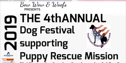 Puppy Rescue Mission Fundraiser , Dog Festival,BBQ,Yappy Hour, Auction