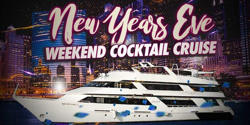 New Year's Eve Weekend Cocktail Cruise on Sunday Evening December 29