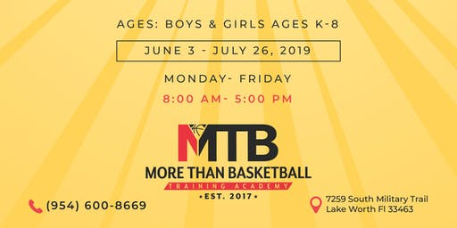 MTB Ultimate Work & Play 2019 Summer Camp!