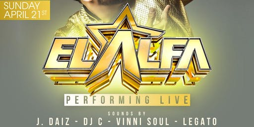 EL ALFA, EL JEFE! Performing Live | Centro Wynwood! 21+