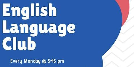 FREE English Classes  tickets