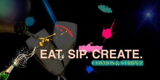 Paint & Sip with Cosmos & Stripez