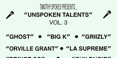 Unspoken Talents Vol.3
