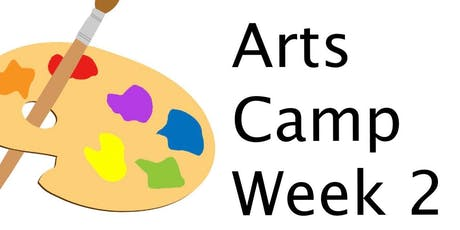 """Week 2 - 4th - 5th Grade (1:00pm - 2:00pm) """"Intro to Printmaking"""" (4 day event) tickets"""