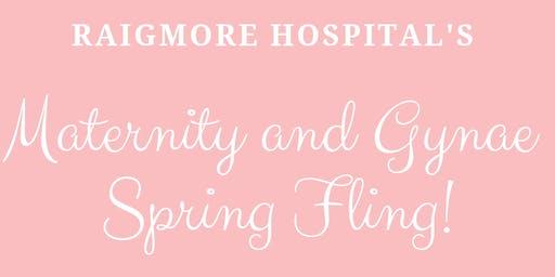 Raigmore Hospital's Maternity and Gynae Spring Fling!
