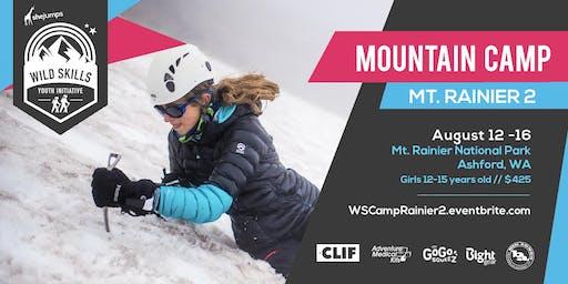 WILD SKILLS Mountain Camp: Rainier 2