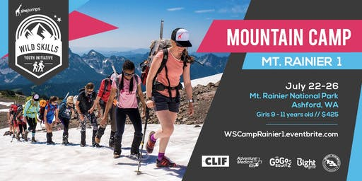 WILD SKILLS Mountain Camp: Rainier 1