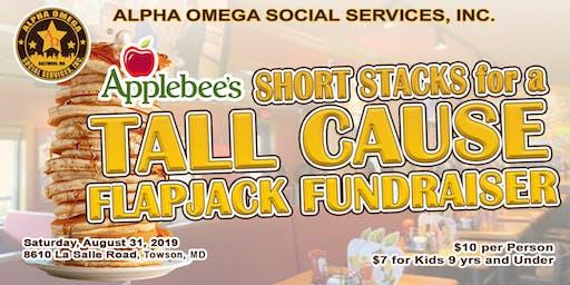 Alpha Omega Social Services Flapjack Fundraiser
