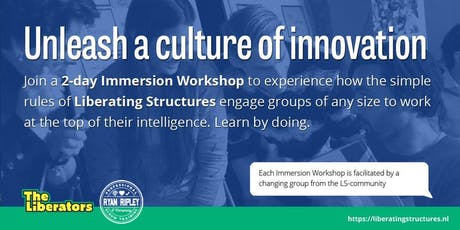 Liberating Structures Immersion Workshop - Boston tickets