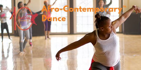 Afro-Contemporary Dance Class (Ages 18 & over) tickets