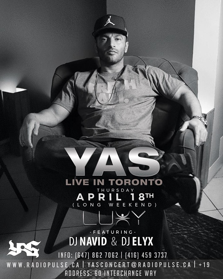 YAS Live In Concert image