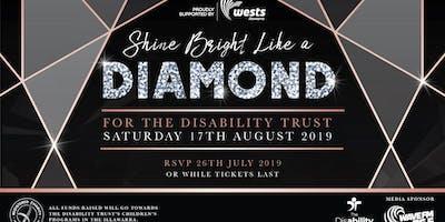 Shine Bright Like A Diamond Gala Night 2019 for The Disability Trust