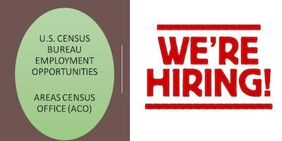 U.S. Census Bureau Recruitment Free Event @ MJBC-JEM