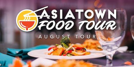 Asiatown Food Tour | August Tour tickets