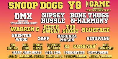 Snoop Dogg, YG, The Game, Keith Sweat, Brenton Wood, DMX & More!