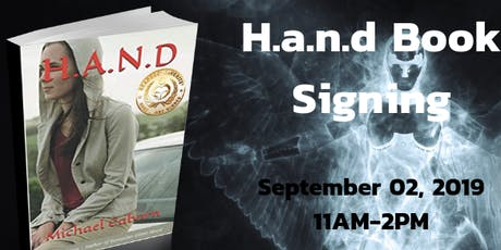 H.a.n.d Book Signing tickets