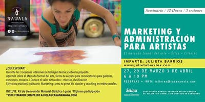Seminario de Marketing y Administración para artistas