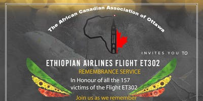 UNIVERSAL REMEMBRANCE SERVICE FOR 157 VICTIMS OF ET302