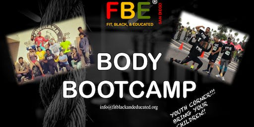 Fit, Black, and Educated: Body Bootcamp
