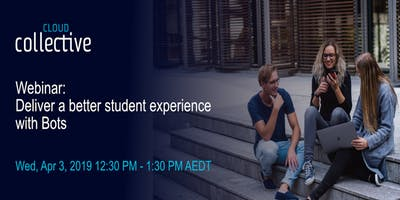 [Free Live Webinar] Deliver a better student experience with Q Bot