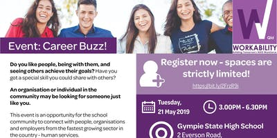 Career Buzz - an introduction to a career with endless possibilities (individual registration)