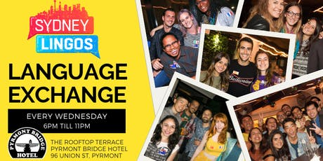 EVERY Wednesday - Sydney Lingos Language Exchange tickets