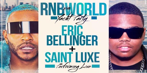 ERIC BELLINGER PERFORMING LIVE W/ DJ SELF on The HornBlower Infinity Yacht