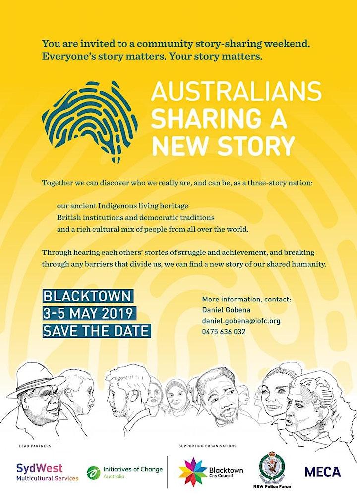 Australians Sharing A New Story - Story Sharing image