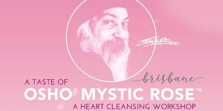 Osho Meditation: Mystic Rose taster - Laughter • Tears • Silence (Emotional Self Care) tickets