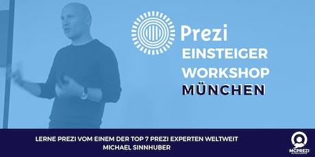 PREZI Workshop für Einsteiger - MÜNCHEN - Prezi Experte Michael Sinnhuber Tickets