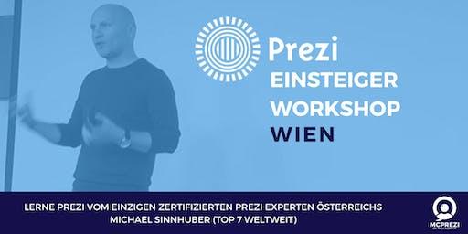 PREZI Workshop für Einsteiger - WIEN - Prezi Experte Michael Sinnhuber