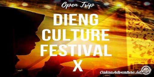 Open Trip Dieng Culture Festival X 2019