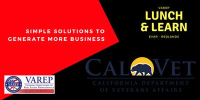 VAREP - Expand your Business by offering CalVet